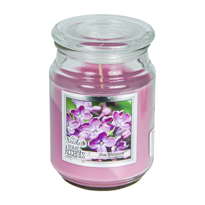 Scented Jar Candle - Lilac Blossom, Large, 1pc