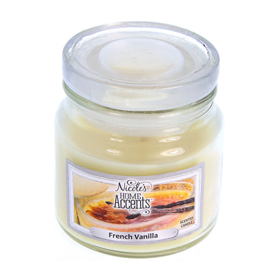 Scented Jar Candle - French Vanilla, Small, 1pc
