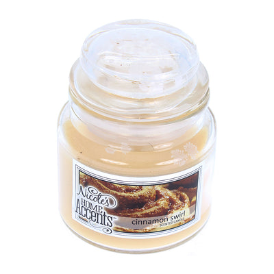 Scented Jar Candle - Cinnamon Swirl, Small, 1pc