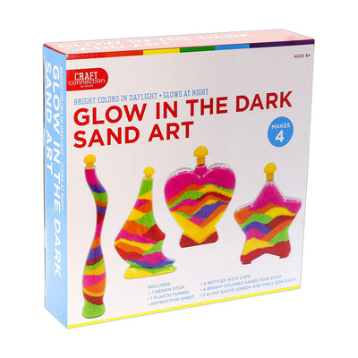 DIY Kit - Glow In The Dark Sand Art