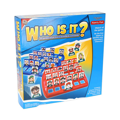 DIY Who Is It Family Game