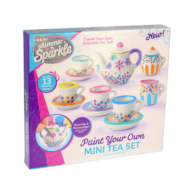 DIY Kit - Paint Your Own Mini Tea Set