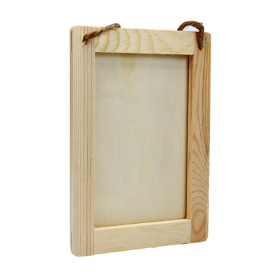 Hanging Wooden Decorable - Picture Frame, Rectangle, L14.3 x W19 cm, 1pc