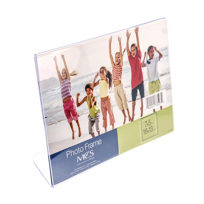 Acrylic Display Frame - 7in x 5in (18cm x 13cm), 1pc