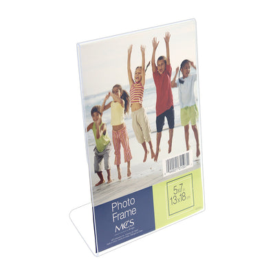 Acrylic Display Frame - 5in x 7in (13cm x 18cm), 1pc