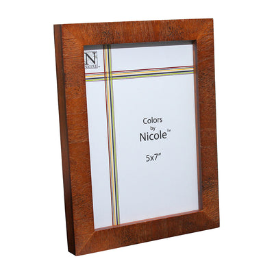 Antique Wooden Picture Frame - 5in x 7in, 1pc