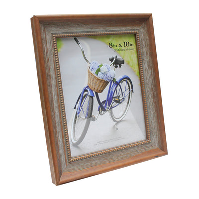 Antique Wooden Picture Frame - 8in x 10in, 1pc
