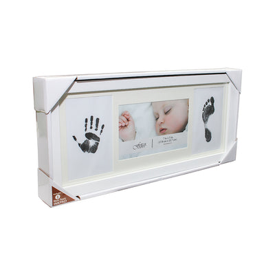 Hand and Footprint Baby Frame - 7in x 5in, 1pc