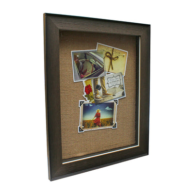 Front Opening Hinge Wooden Shadow Box - 11in x 14in, 1pc