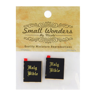 Miniature Bible - 1in (2.5cm), 2pc