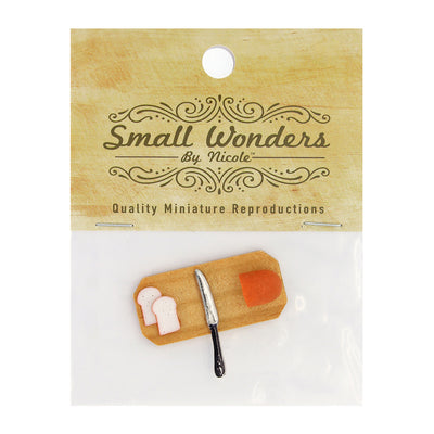 Miniature Bread/ Knife - 1.5in (3.8cm), 1pc