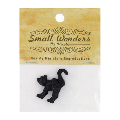 Miniature Black Cat - 1.25in (3cm), 1pc