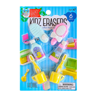 Fun Kidz Erasers - Make Up and Beauty, 6pc