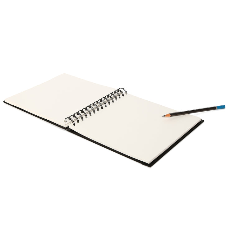 Oxford Sketch Book- A5, Wire-O-Binding, 20x20cm, 128pages