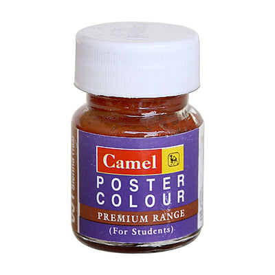 Camel Premium Range Poster Colour 15ml - Burnt Sienna