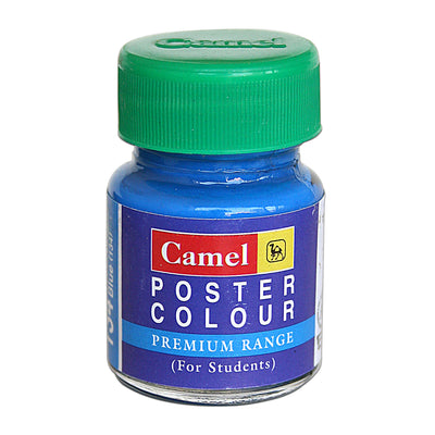 Camel Premium Range Poster Colour 15ml - Fluorescent Blue