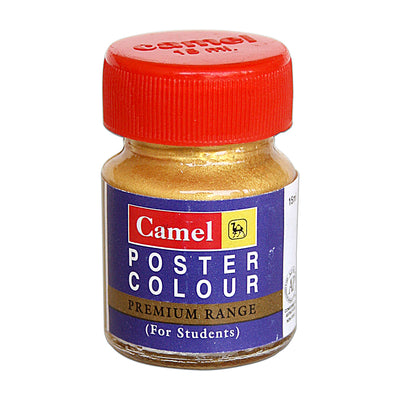 Camel Premium Range Poster Colour 15ml - Gold