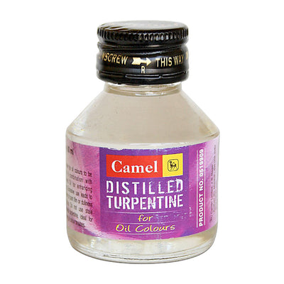 Distilled Turpentine For Oil Colours- 60ml, 1pc