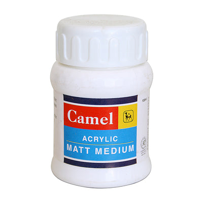 Camel Acrylic Matt Medium -100ml, 1pc