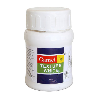 Camel Texture 500ml - White