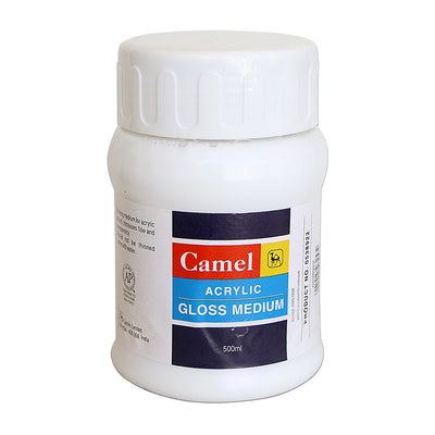 Camel Acrylic  Gloss Medium - 500ml, 1pc