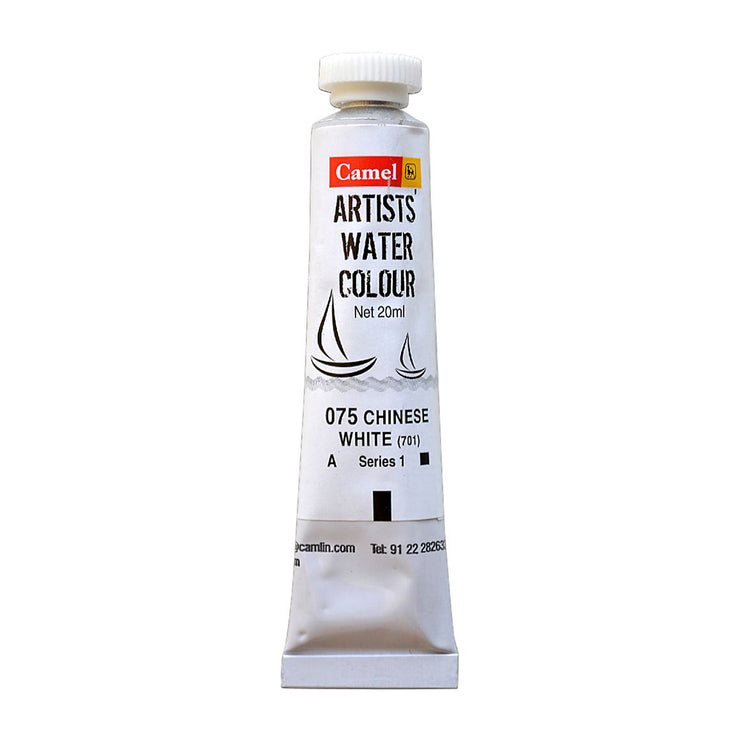 Camel Artist Water Colour 20ml - Chinese White