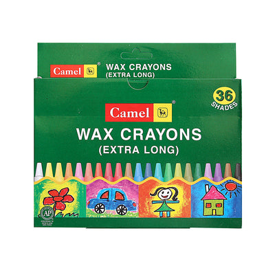 Wax Crayons - Extra Long 36 Shades