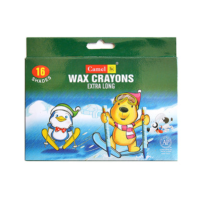 Wax Crayons - Extra Long 16 shades