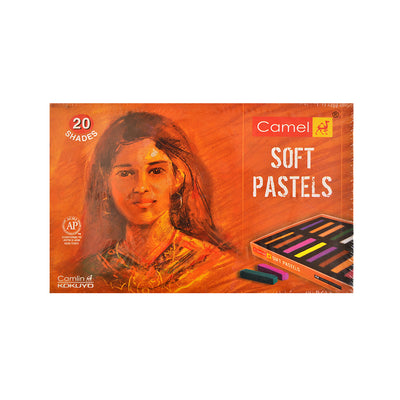 Camel Soft Pastels - Set of 20 shades
