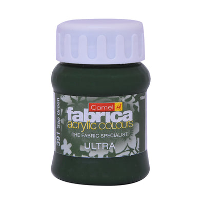 Camlin Fabrica Acrylic Colour 100Ml- Ultra Sap Green