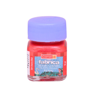 Camlin Fabrica Acrylic Colour 10Ml- Pearl Cherry Red