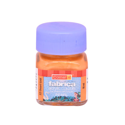 Camlin Fabrica Acrylic Colour 10Ml- Pearl Desert Gold