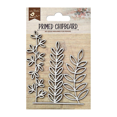 Primed Chipboard-  Wild Springs, 1Pc
