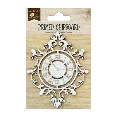 Primed Chipboard-  Time Trail, 1Pc
