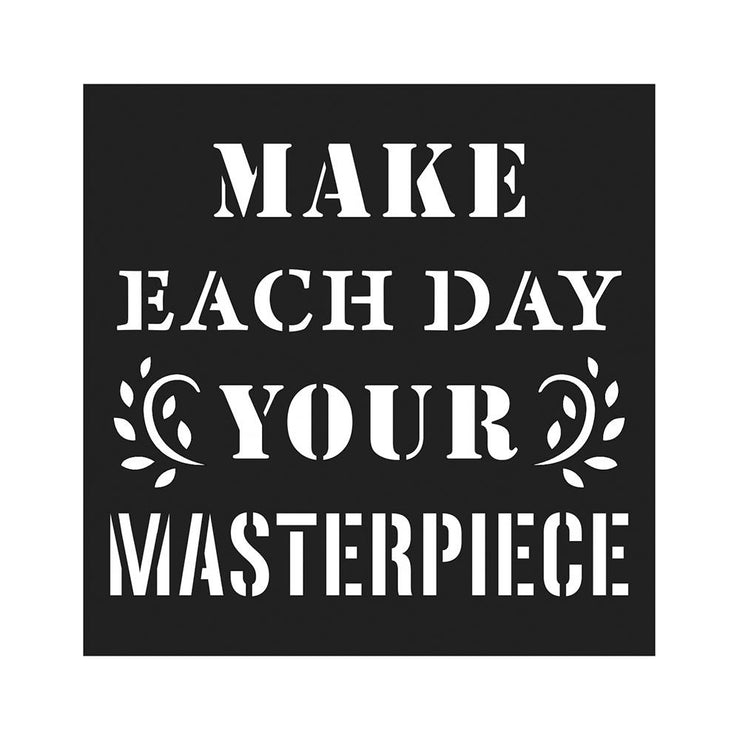 Stencil Your Masterpiece - 4x4 Inch, 1Pc