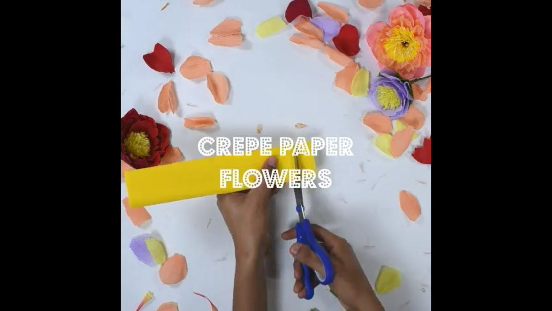 Flower Making Crepe Paper Extra Stretchable Pink