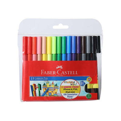 Faber Castell- 15 Connector Pens