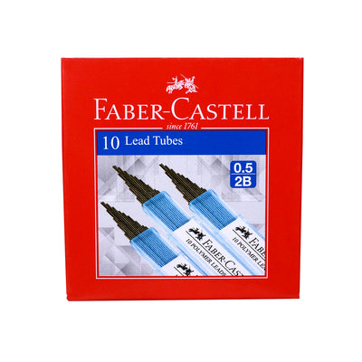 Faber Castell Lead Tubes (0.5 2B) - Pack Of 10
