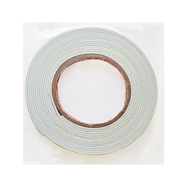Double Sided Adhesive Foam Tape - 1/2inch