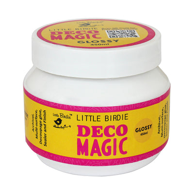Little Birdie Deco Magic Glue Glossy -450ml