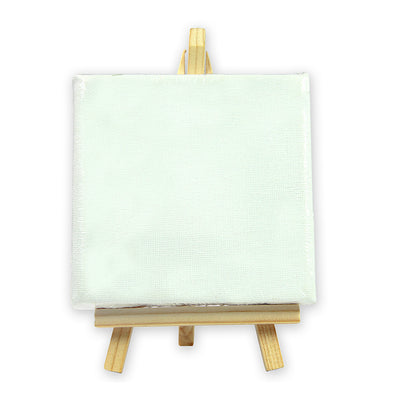 Mini Canvas With Display Easel -10x10cm, 1pc