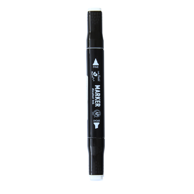 Dual Tip Alcohol Marker - Colorless Blender, 1pc