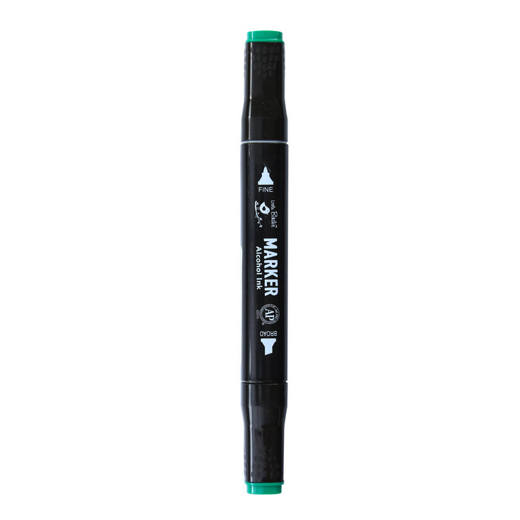 Dual Tip Alcohol Marker - Viridian, 1pc