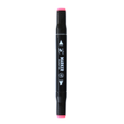 Dual Tip Alcohol Marker - Fluorescent coral red, 1pc