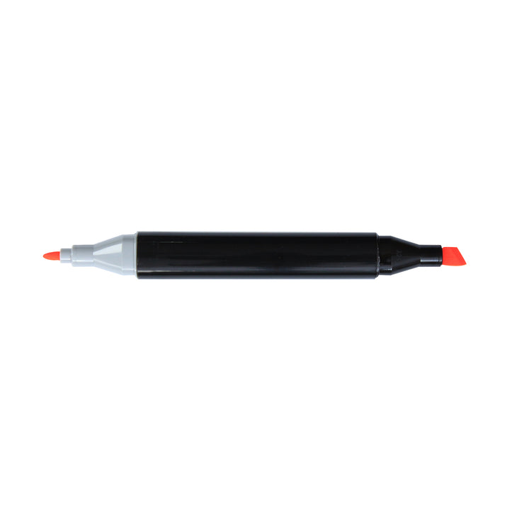 Dual Tip Alcohol Marker - Flurorescent orange, 1pc