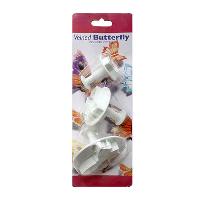 Plunger Cutter - Butterfly 3pc