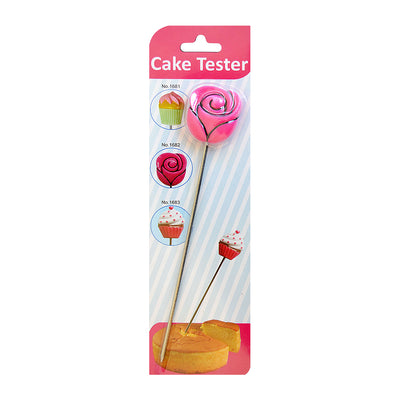 Cake Tester - Rose 6.5 Inches, 1 pc