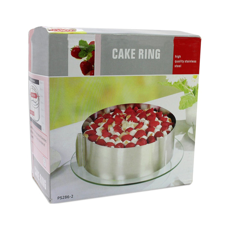 Cake Ring - Stainless Steel