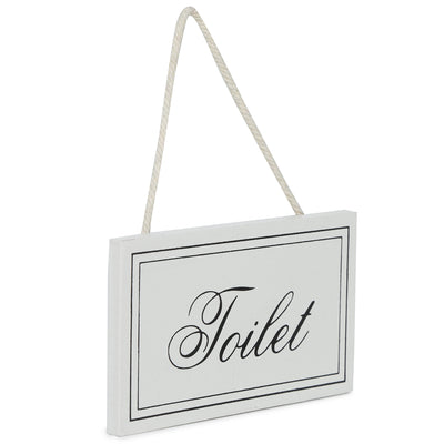 Decorative Wall Hanging - Toilet, 10X10X0.5 cm, 1 pc