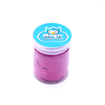 Magic Cotton Sand- Assorted Colour, 1Pc